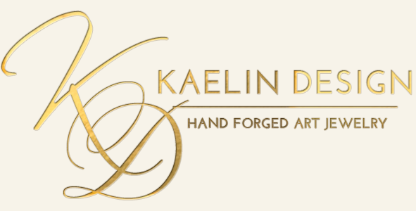Hand forged Art Jewelry in Gold and Silver by Kaelin Design