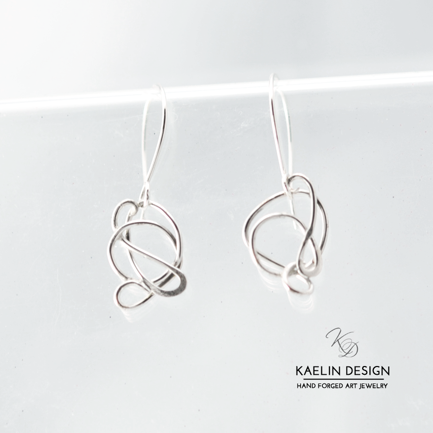 Whimsy Handmade Silver Earrings