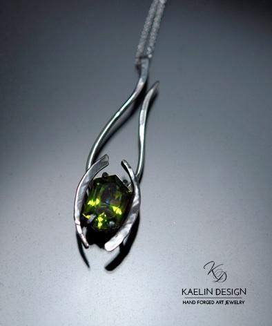 Celadon Custom Pendant  by Kaelin Design